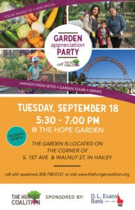 Garden Appreciation Party!